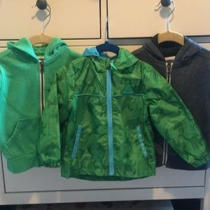 Spring sweatshirt/jacket bundle, size 2T